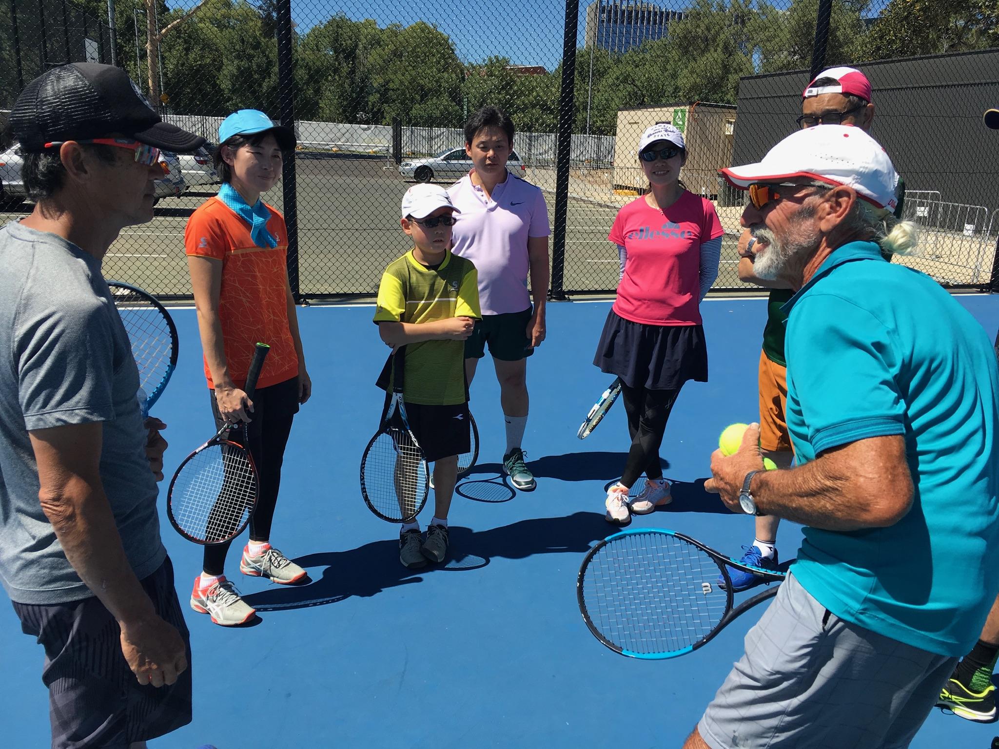 オーストラリア テニス夢ツアー2019 2日目 | テニス留学 (株)ライフ ...
